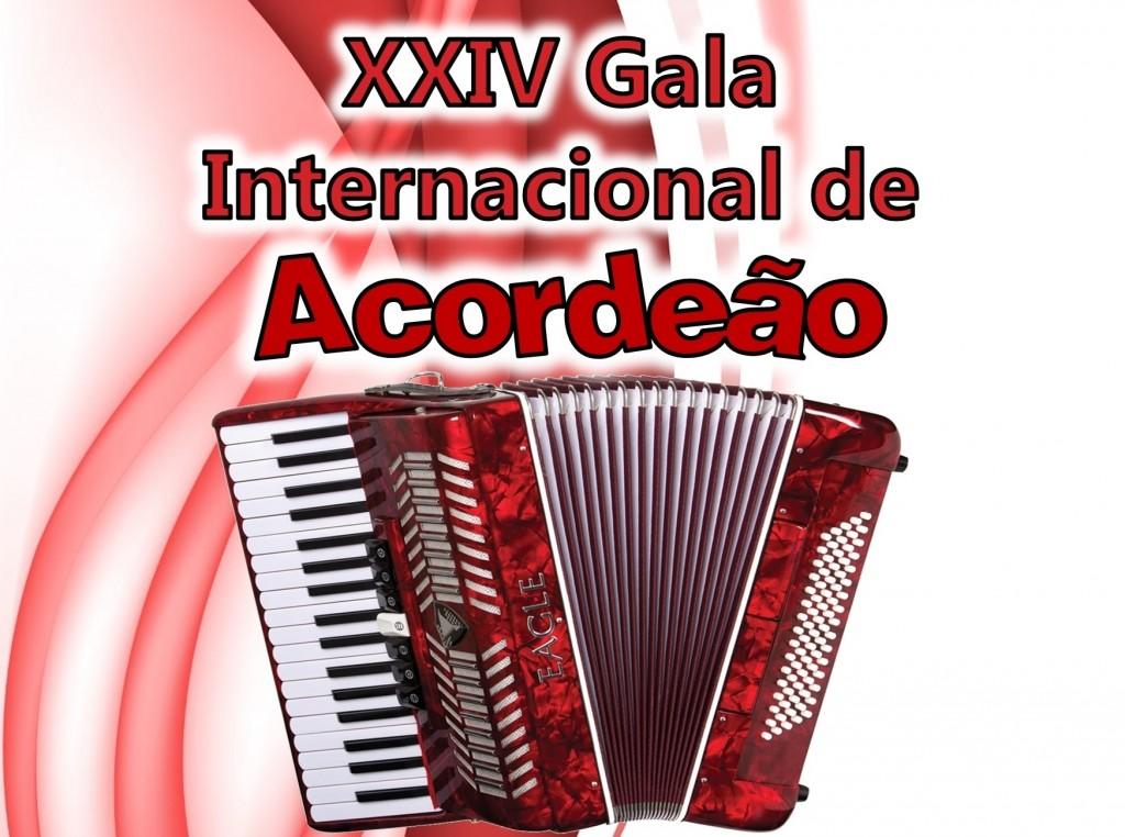 Cartaz XXIV Gala Internacional de Acordeao - 2015