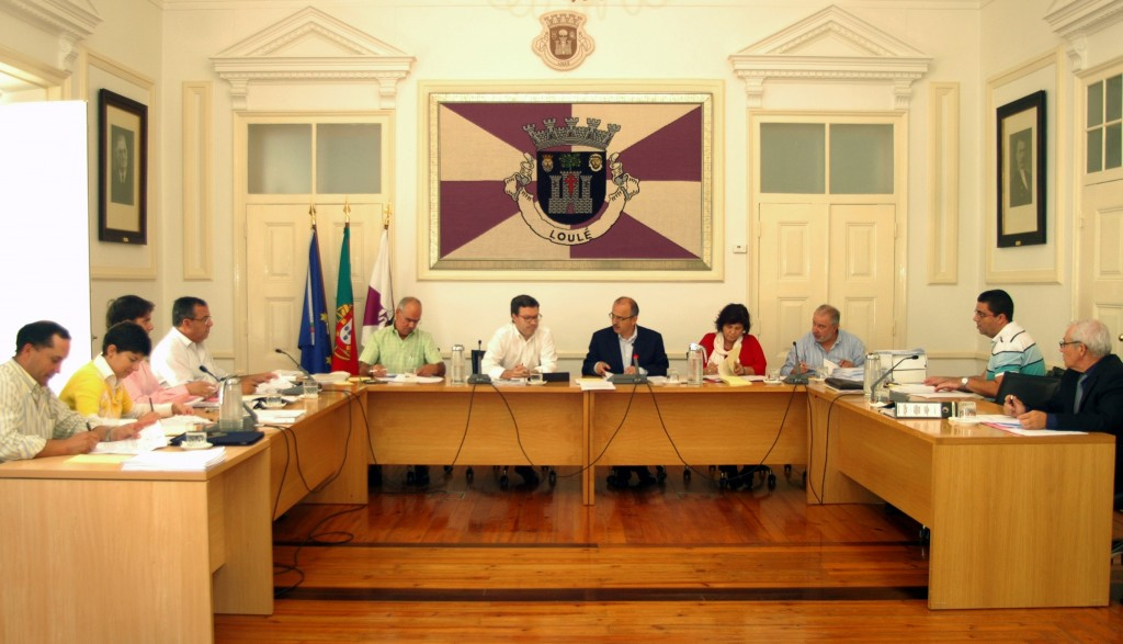 Reunião do Executivo da Câmara Municipal de Loulé