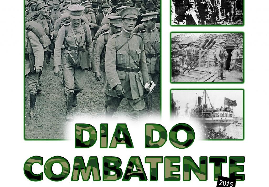 Cartaz Dia do Combatente - abril2015