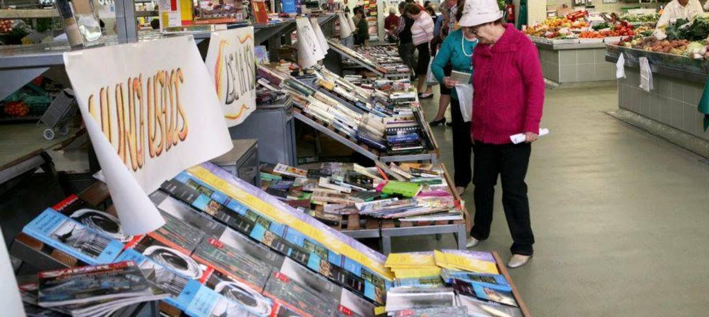 Há livros no Mercado - D.R.