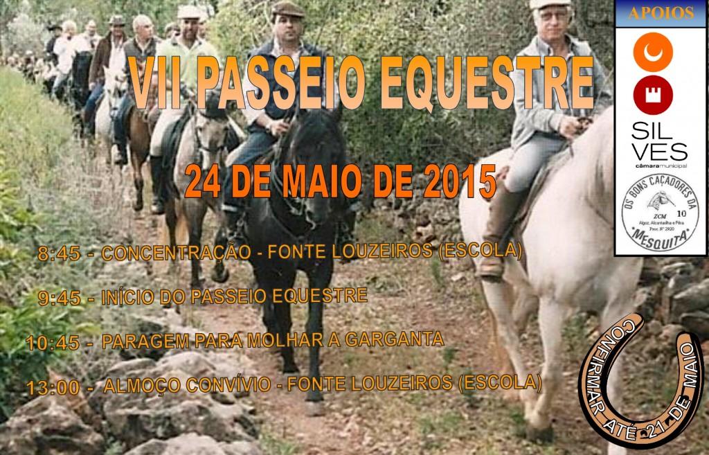 2015 Cartaz Passeio Equestre