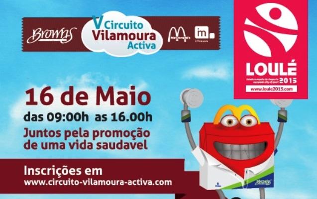 V Circuito Vilamoura Activa - Cartaz