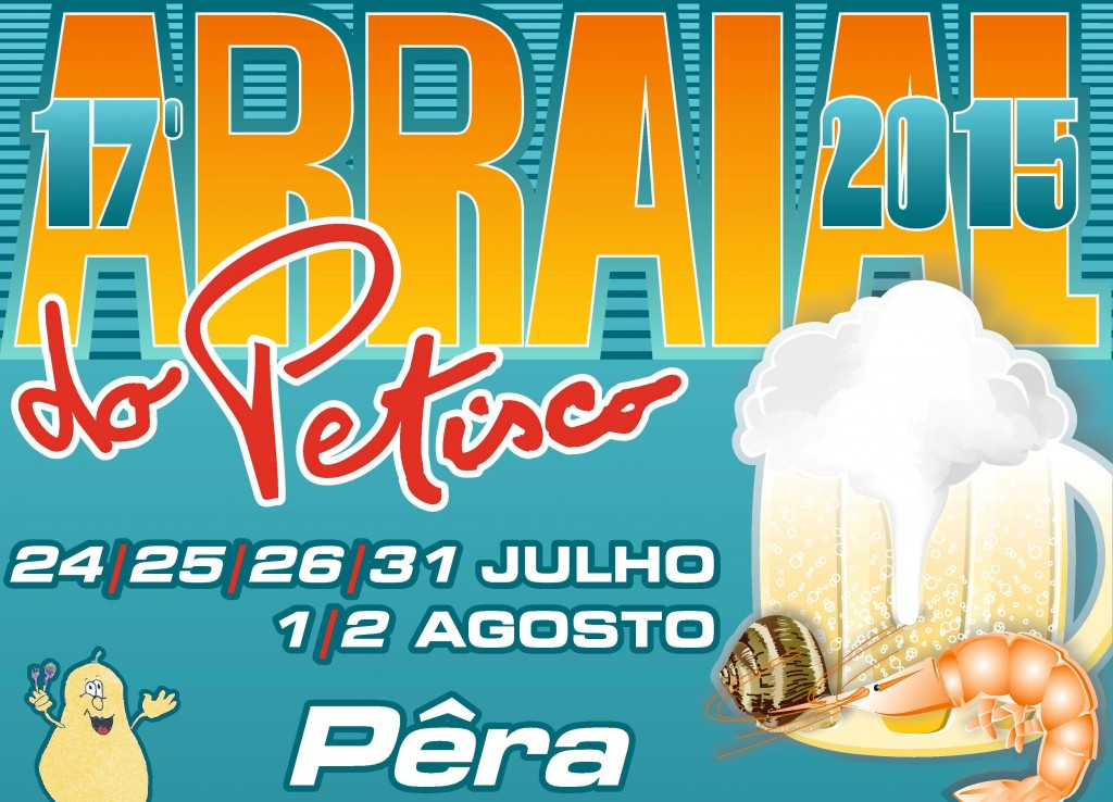 Cartaz Arraial do Petisco 2015 A3