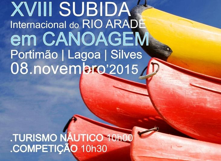 cartaz XVIII Subida do Rio Arade_2015