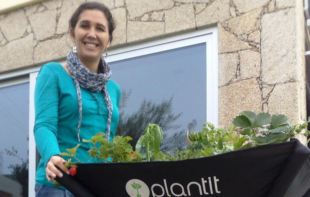 FOTO - Susana Caseiro e Kit Plantit