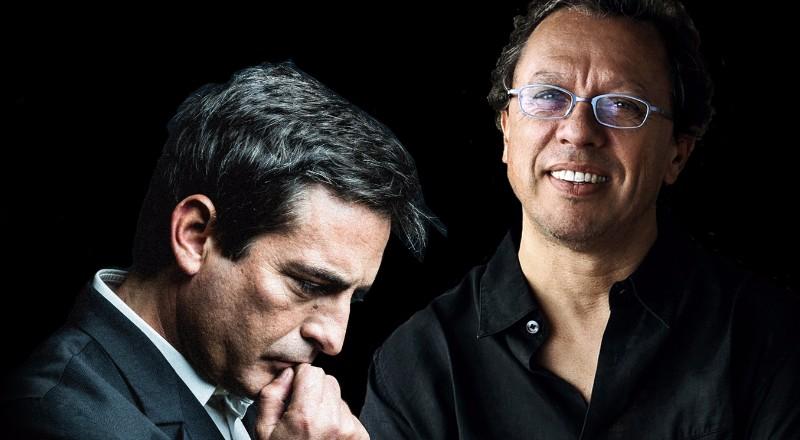 Camamé e Mário Laginha