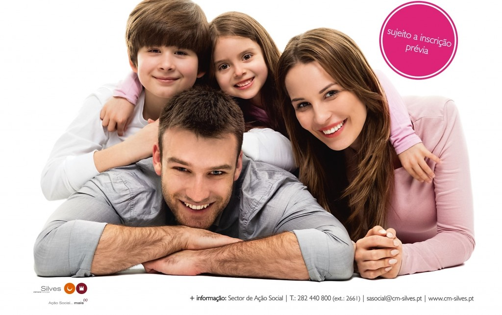 cartaz Ciclo de Workshops parentalidade